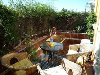 Malaga City apartment rental - D-5, Terrace.
