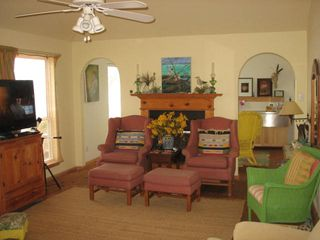 San Luis Pass house photo - Living Room