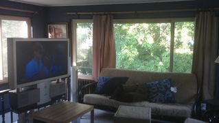 Minneapolis condo photo - Living (HDTV has been replaced with flat screen.) Broadband Wifi