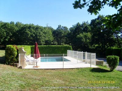 Renovated stone house, very well equipped, with pool secutisee sur14500