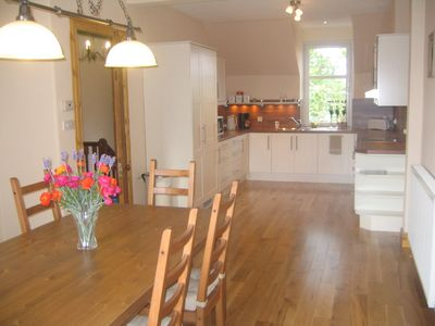 Edzell apartment rental - Large Kitchen/Dining room with all appliances