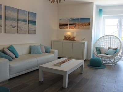New Family House OBERHÜS 750m from the beach for 4-9 pers. Top-Level.