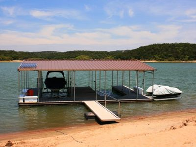 Dock w/beach - waverunner rentals - 1 slip for use
