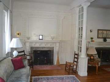 Music room & fireplace