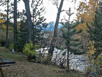 Estes Park cabin rental - Fall View From Front Room Deck