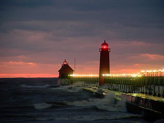 Grand Haven apartment photo - Grand Haven Lighthouse