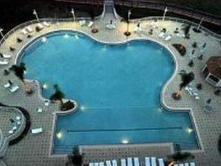 Lake Buena Vista condo photo - 6,000 square foot heat pool with a beautiful view of Lake Bryan!