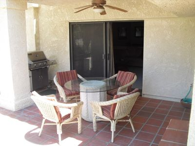 Patio and BBQ Grill