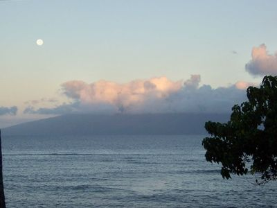Sunset from Lanai  ... Isn't it beautiful ???  @ Kahana Reef #313