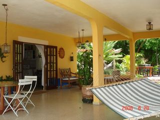 Rincon villa photo - Spacious covered patio, lots of room to spread out