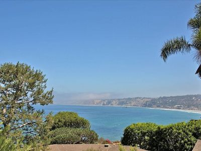 VIEW TO THE NORHT OF LA JOLLA SHORES AND TORREY PINES