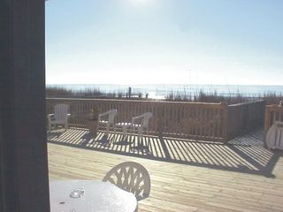 Cherry Grove Beach condo photo - View from Living room of Nellie's nook