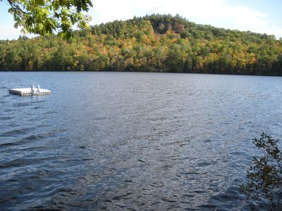 Bryant Pond / Christopher Lake house rental - Waterfront