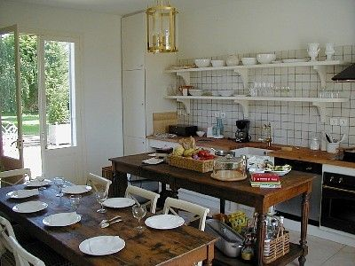 French style fully equipped kitchen
