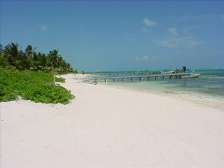 Ambergris Caye villa photo - Your private beach in front of the Villa