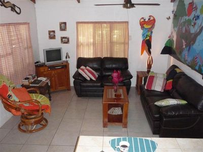 Jaco house rental - Living room