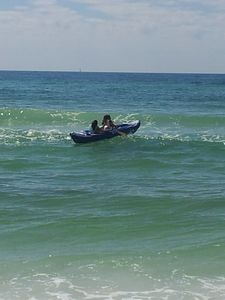 Discover Destin, Ocean kayaking.