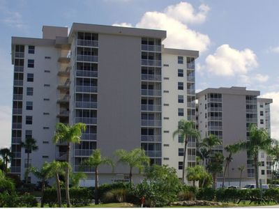 Building Exterior, Facing Bonita Beach