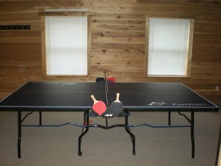 Nancy cabin photo - Basement ping pong table