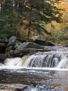 Franconia house rental - Nearby waterfalls.