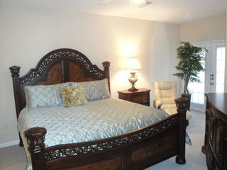 Gulfport villa photo - Master Bedroom with King Bed / Large flat screen TV / RECLINER
