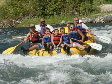 River Rafting the Wenatchee