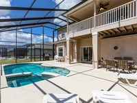 6 BR / 4 BA WITH PRIVATE POOL/GAME ROOM/WIFI/GATED COMMUNITY