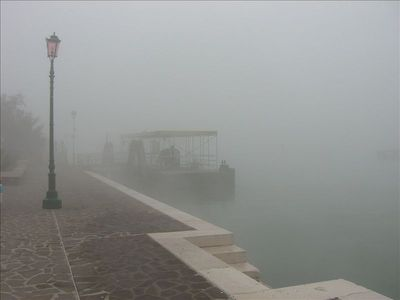 the Venetian fog... sometime in autumn... can be fascinating and add mistery..