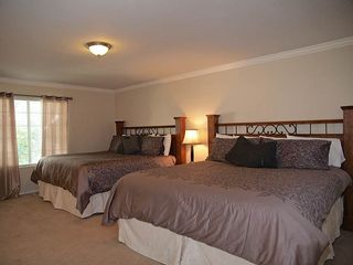 Cottonwood Heights house photo - MASTER BEDROOM (OFF KITCHEN) 2 BEDS, HD TV, PRIVATE BATHROOM