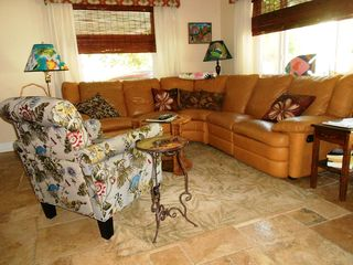 Key West house photo - Living room sectional with recliners