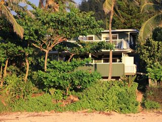 Haleiwa house photo - View of House from Beach