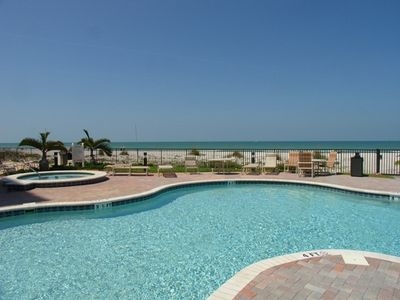 Beach Front Pool & Two Spas!