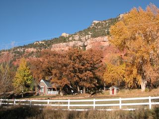 Durango farmhouse photo - River Valley Privacy, hot tub, huge pasture for your pets, WI-FI , 5 min to town