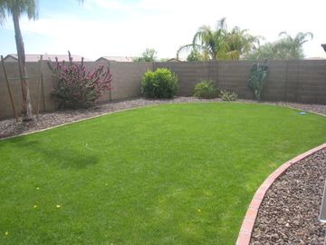 large grass area for recreation or relaxing
