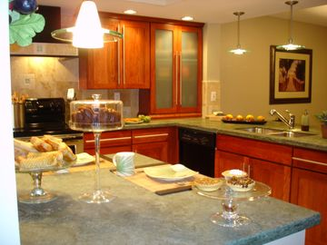 Kitchen completely equipped with everything you need to feel like home