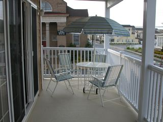 Wildwood condo photo - The spacious and private deck