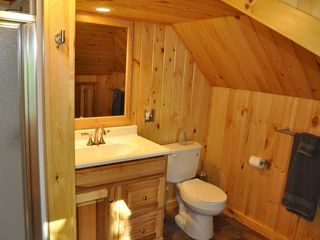 Edwards cabin photo - New Bathroom with Walk-in Shower.