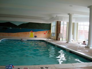 Moneta condo photo - Heated indoor pool and hot tub open year round