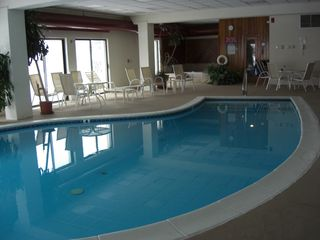 Mount Snow condo photo - There is an indoor pool with hot tub and sauna available for use at no charge.