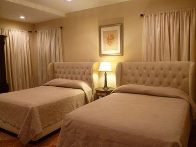Comfortable and classy guest bedroom