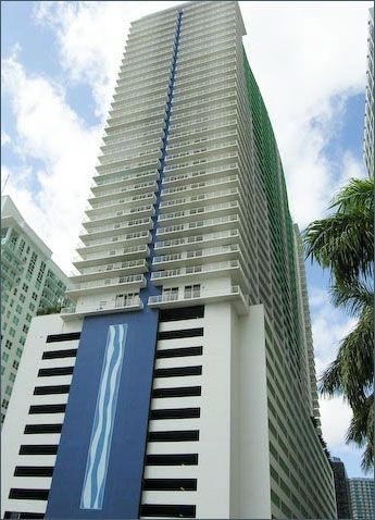 Brickell condo rental - Building