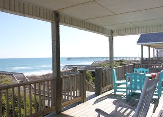 Surf City house photo - Sun Deck and Covered Deck on top floor