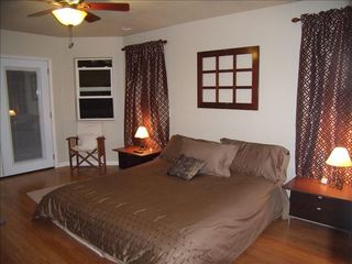 Lake Almanor house photo - Master Bed Rm. And Bath, Walk In Closet, & Deck