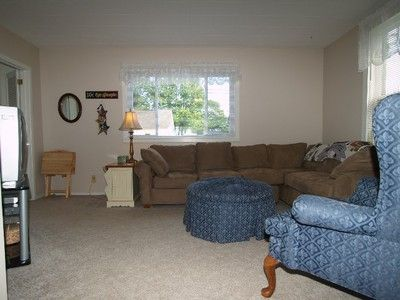 Large living area with sectional sofa