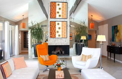 This remarkable Palm Springs vacation rental home is just perfect for relaxing a