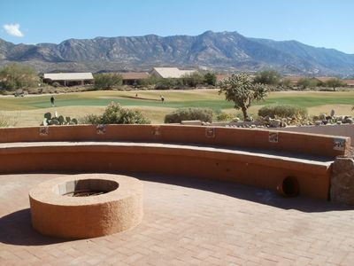 Mountains galore, golf course, and desert views from this spectacular home!