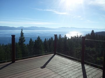 Cedar Flat lodge rental - 'The views are more beautiful than the photos could ever show!'