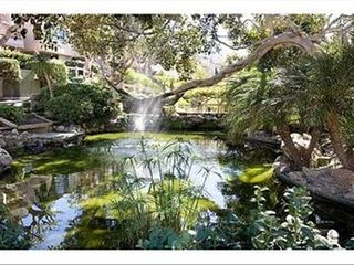 Solana Beach condo photo - pond in the complex, on the walk way to the beach