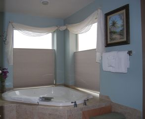 Yachats house photo - Jetted tub in Master Bath