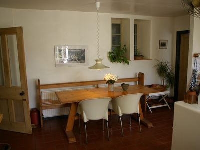 Stow house rental - Dining area